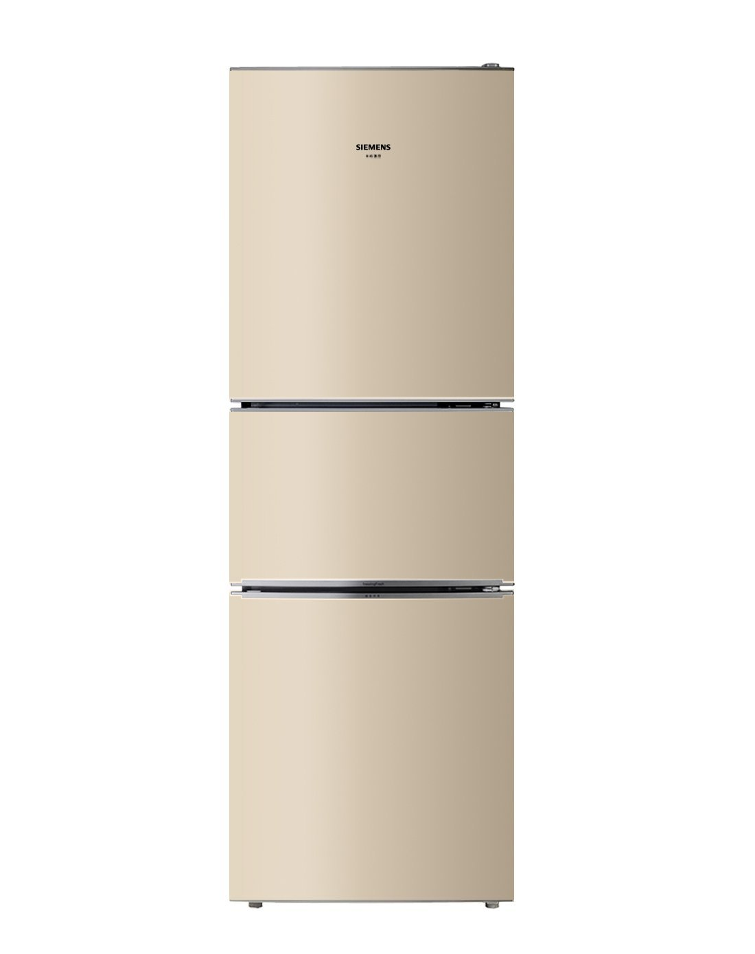 SIEMENS Siemens KG23D113EW 232L tầng phân vùng đông lạnh đóng hộp không mùi câm tiết kiệm điện ba cử