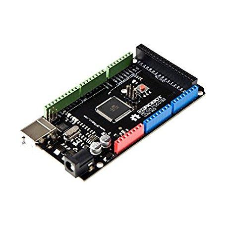DFRobot sản phẩm mega2560 Mpu in 3D Arduino 4 cổng nối tiếp liên lạc hỗ trợ điều khiển.