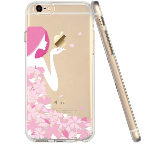 ESR Triệu màu (ESR), táo iPhone6/6s vỏ điện thoại / bảo vệ bộ phim hoạt hình 6S silica gel chống vỡ