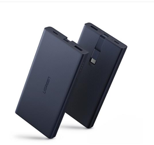 UGREEN Liên minh xanh chuyển điện 10.000 ma Huawei Remy Samsung Universal nhanh đi kèm dây sạc điện