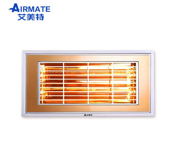 (Airmate) tích hợp nhôm phòng tắm MV36T-01 đèn hồng ngoại và PTC sợi các - bon xa ống sưởi halogen