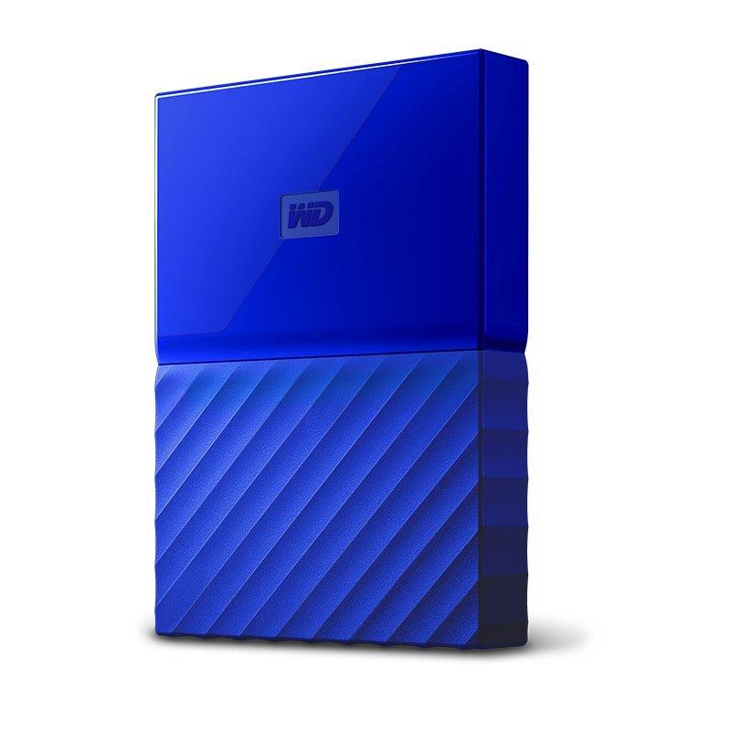 Ổ cứng di động  Ngựa Tây Wd dữ liệu Passport 2.5 inch 1TB WDBYNN0010BBL ổ cứng di động màu xanh với