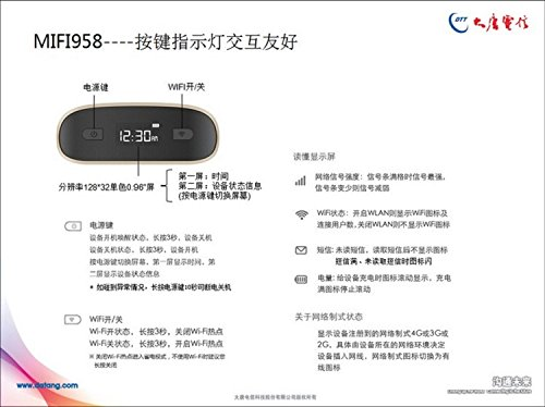 Modom  Wifi    Đại Đường 958 4GMIFI 5 - 16 tần số không dây 4G Router đưa 9100MA chuyển giao diện đ