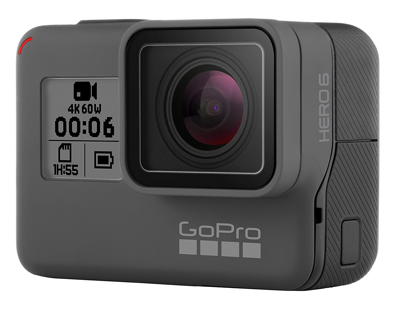 GoPro   Dùng máy quay thể thao HERO6 Black Speech kiểm soát hiệu suất gấp đôi 4K60 khung chống thấm