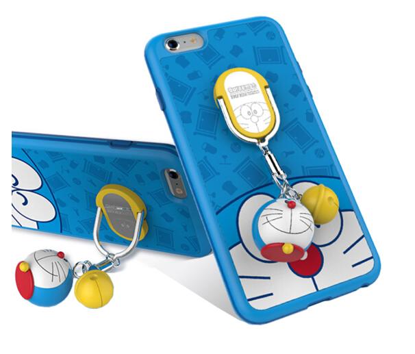 ROCK Locke (ROCK) Doraemon khung vỏ điện thoại silica gel chống và bảo vệ bộ phim hoạt hình được áp