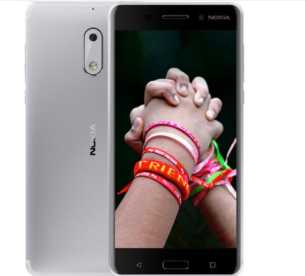 Nokia (NOKIA) Nokia 6 (Nokia6) tất cả điện thoại bạc trắng 4GB+32GB Edition