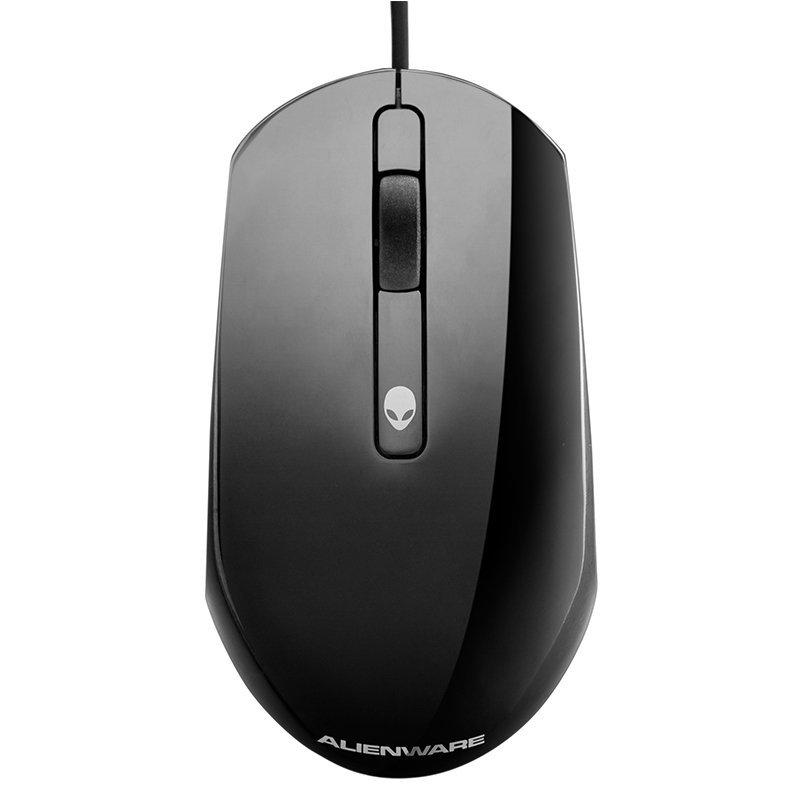 Dell Dell Alienware chuột đen nối giao diện USB, người ngoài hành tinh.