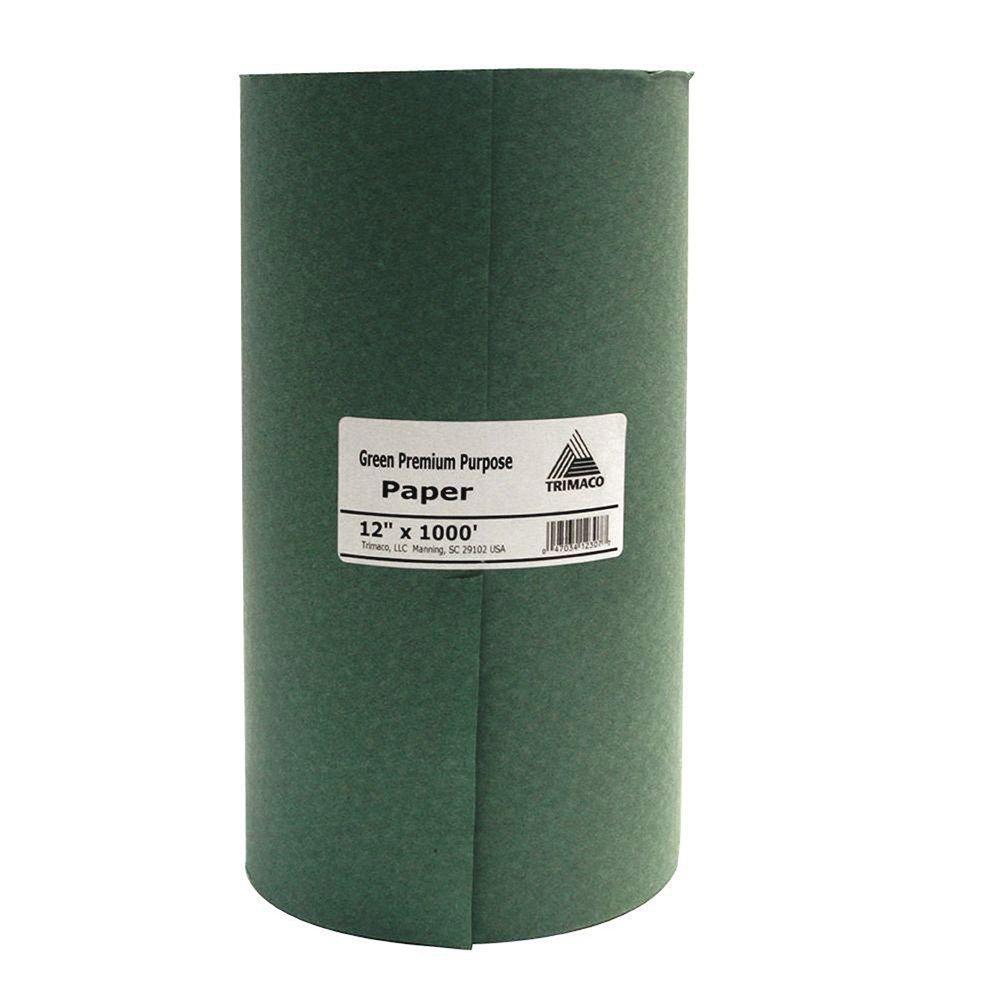 Thị trường phụ kiện máy móc Ba tờ giấy 12307 / 12 inch × 1000 feet gl12 sọc xanh đẹp cao cấp giấy