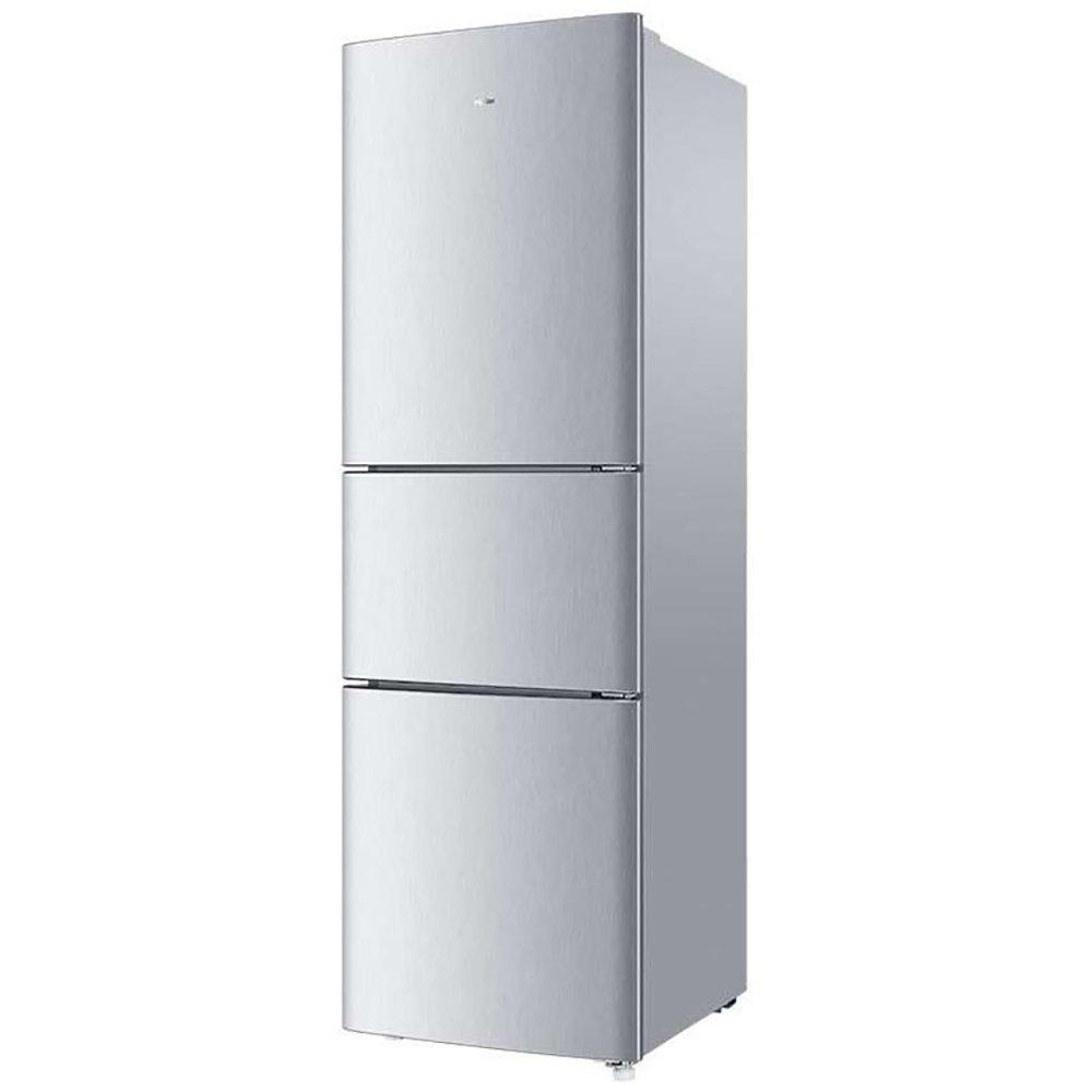 Điện gia dụng chính hãng   Hale (Hale) BCD - 205stph 205 lít ba cửa Ba khu vực ấm lạnh (bạc) 3.5 kg