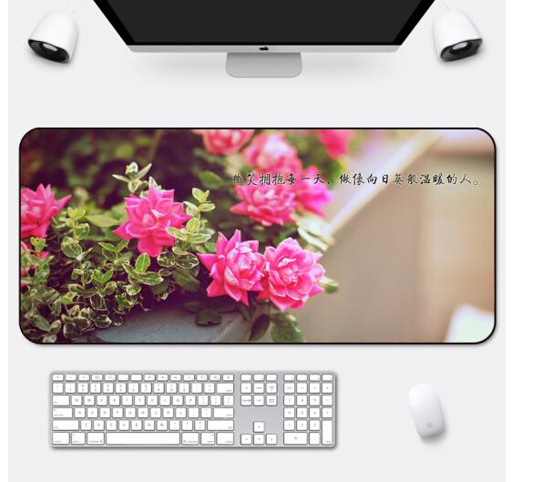 RS RS [1] trừ văn phòng khổng lồ truyền cảm hứng chơi tùy chỉnh 90x40 Mousepad dày của nhà sáng tạo