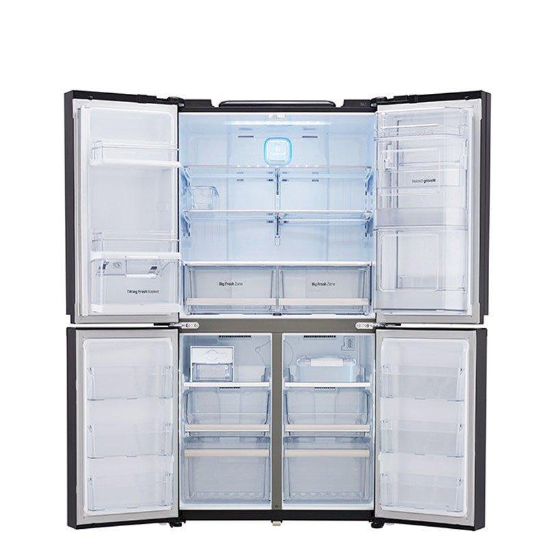 Tủ lạnh  LG GR-M24FBGHC ( huểnh bạc) 601 lít mới ráp xong nhập khẩu thay đổi tần số 4 câu đối hai bê