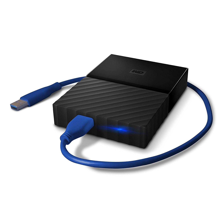 Ổ cứng di động  WD MY Passport Portable Game lưu trữ GB ổ cứng di động USB đen đen – 3.0 4TB