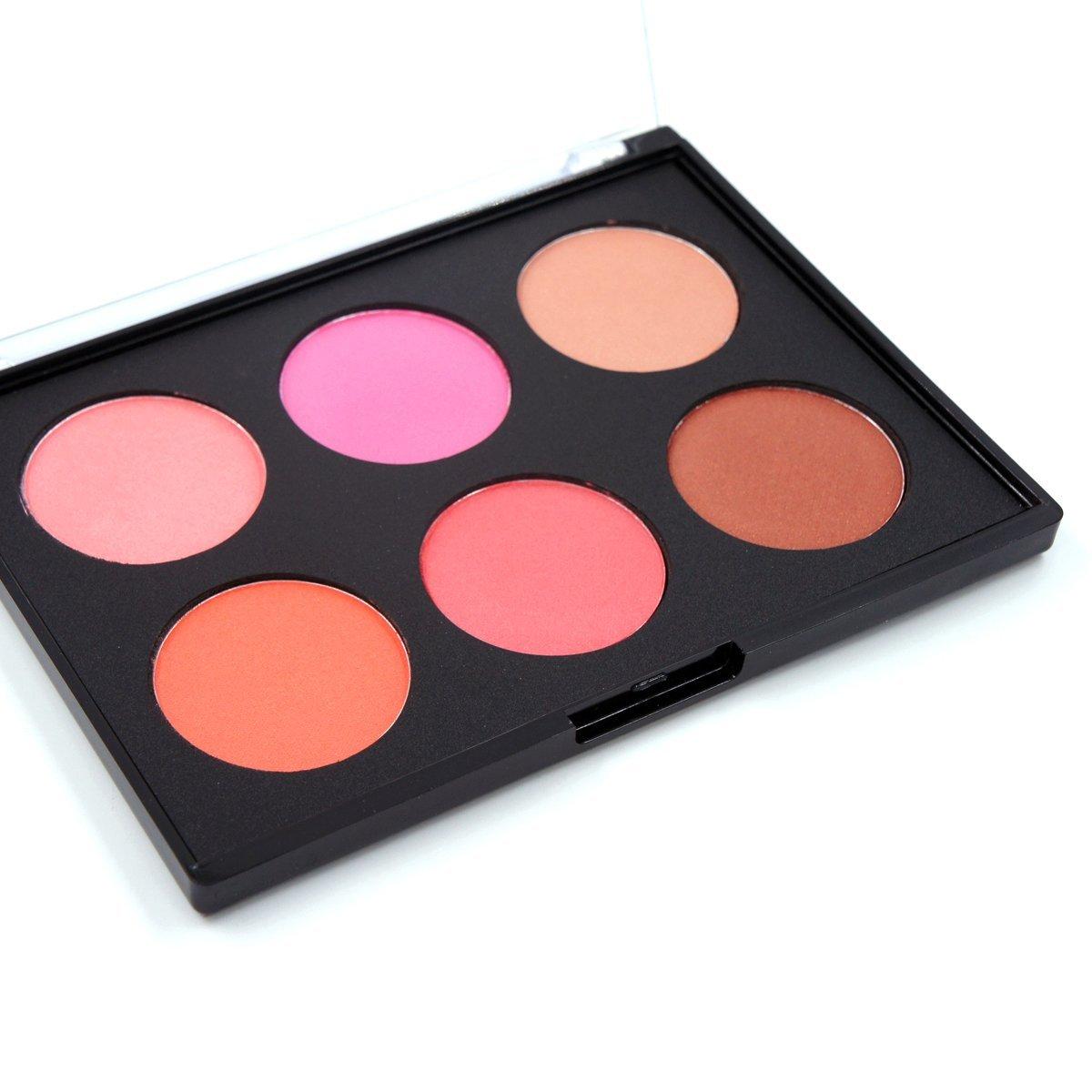 Miskos 6 màu kem dưỡng CONTOUR bảng màu tự nhiên pigmented CONTOUR blushes hấp dẫn lâu dài pallet ke