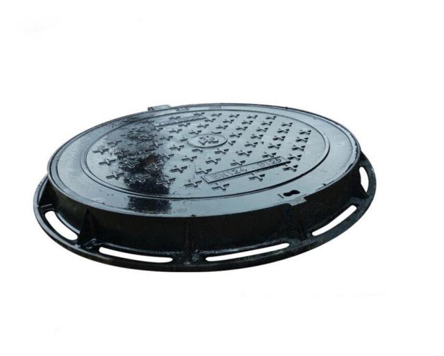 Naliya Q235 Hợp kim thép đồng cửa nắp cống thoát nước mưa tròn thông tin liên lạc điện đồng phát Log