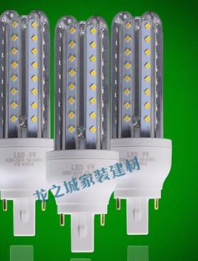 BUBUNIU Đèn LED hoành cắm đèn ống 24 Ngô AC85-265V cả 360 độ sáng bóng đèn điện áp nguồn G24 7