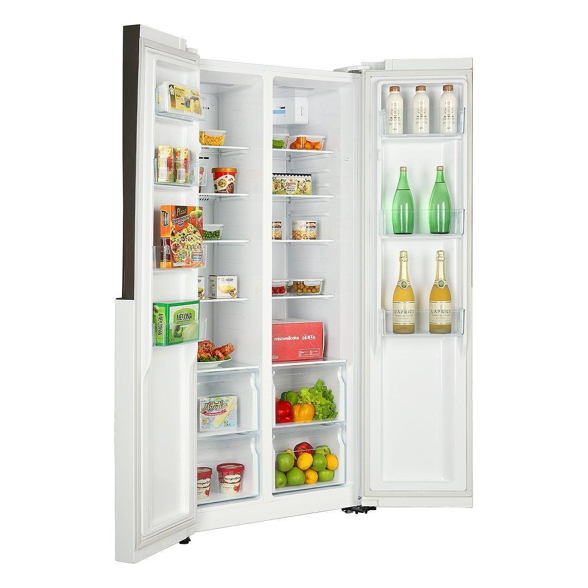 Điện gia dụng chính hãng   Hale 452wdpf Hale BCD - 452 lít phải mở cửa tủ lạnh không có kem.