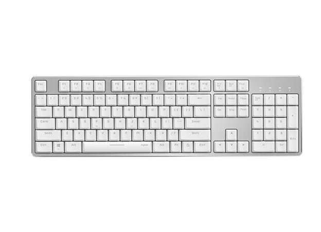 Rapoo (Rapoo) MT700 nhiều mô hình bàn phím máy văn phòng bàn phím Bluetooth nối bàn phím trên bàn ph