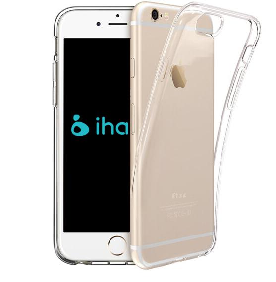 ROCK Apple 6/6S silica gel điện thoại di động đơn giản. Trong suốt iPhone6/6S vỏ bảo vệ bộ IHAVE Ser