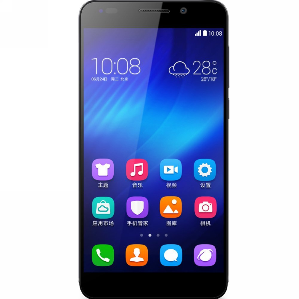 Honor   Vinh Quang TD-LTE/TD-SCDMA/GSM 6 Honor6 16G Edition chuyển điện thoại 4G (đen) 8 nhân điện t
