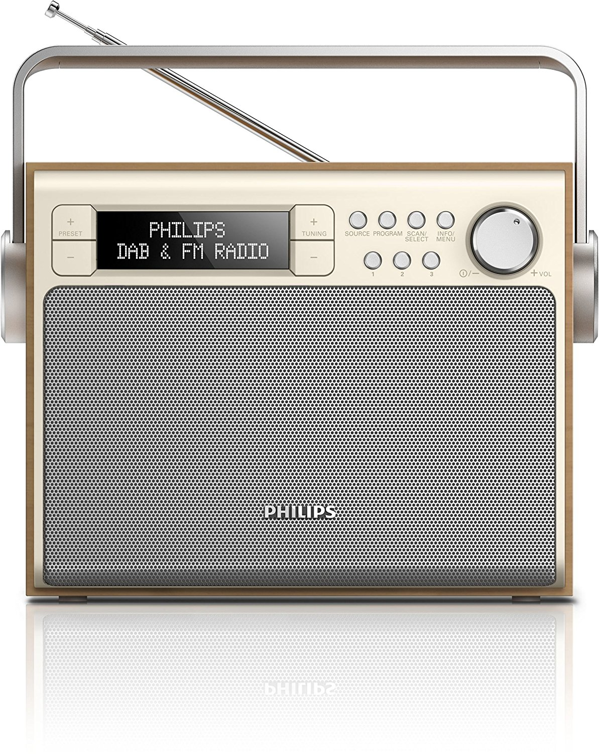 Philips Philips Philips AE 5020 Portable dàn âm thanh stereo (Digital Audio Broadcasting (DAB)