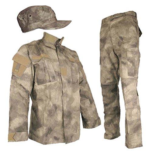 Mũ, bộ áo quần lính rằn ri SHENKEL A-TACS AU bdu-au01-XXL
