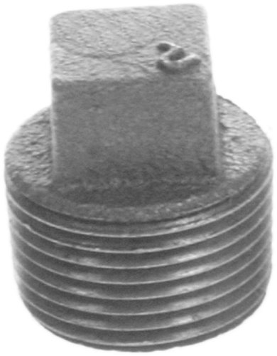 Aviditi 93164 1-1/2-Inch Fitting with Plug, (Pack of 10)