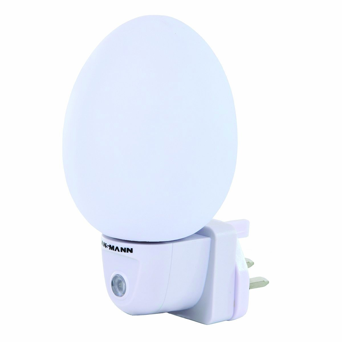 Ansmann Nightlight - Egg Shape with Mains Plug