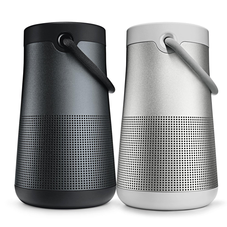 BOSE Bose SoundLink Revolve+ Bluetooth không dây loa - Trình / âm thanh ấm nước lớn màu đen.