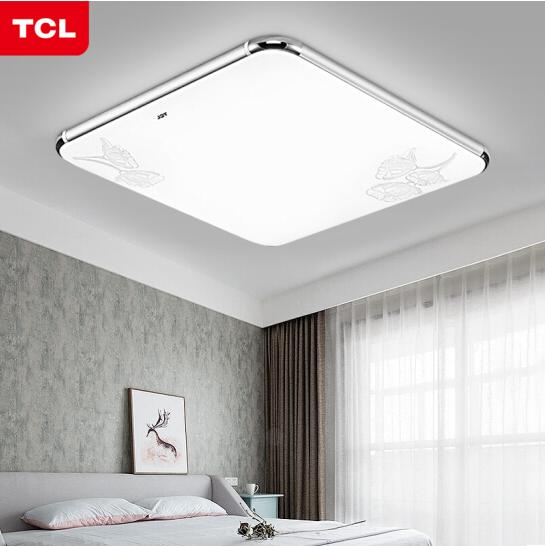 TCL đèn phòng khách phòng ngủ hiện đại LED hút đèn hướng dẫn đèn hình chữ nhật đơn giản. Ban công 16