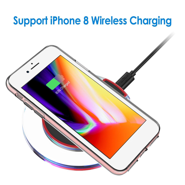 Táo Mỹ JETech 8 iPhone7 vỏ điện thoại di động iPhone8/7 bộ bảo vệ vỏ mềm TPU+PC kết hợp hệ thống kiể