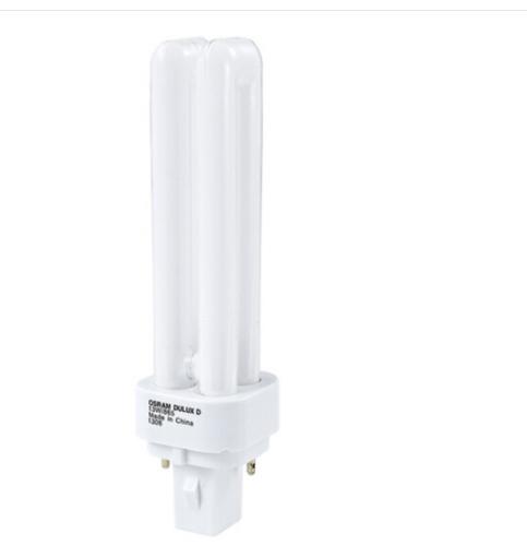 OSRAM (OSRAM) hai ống kim 13W ba màu hai nòng chắc nịch tiết kiệm năng lượng ánh sáng Mặt trời màu 6