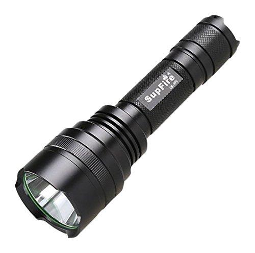 SupFire c8 đèn pin, đèn xe tự hành nhập khẩu từ Mỹ CREE Q5 bóng đèn đầu an function (phòng thân tự v