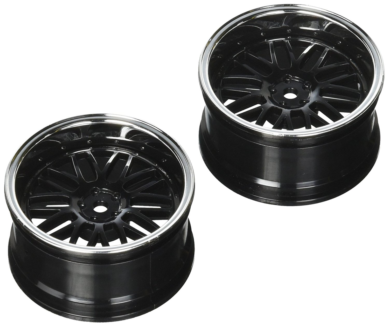 Vaterra Wheel RR 54 x 30 mm sâu crom / BLK 2 V - 100