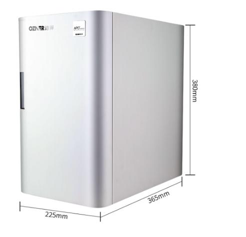 ozner (ozner) nhà máy nước uống sạch nước chip thẳng vô hộp nước chống xâm nhập vào máy màng RO JZY-