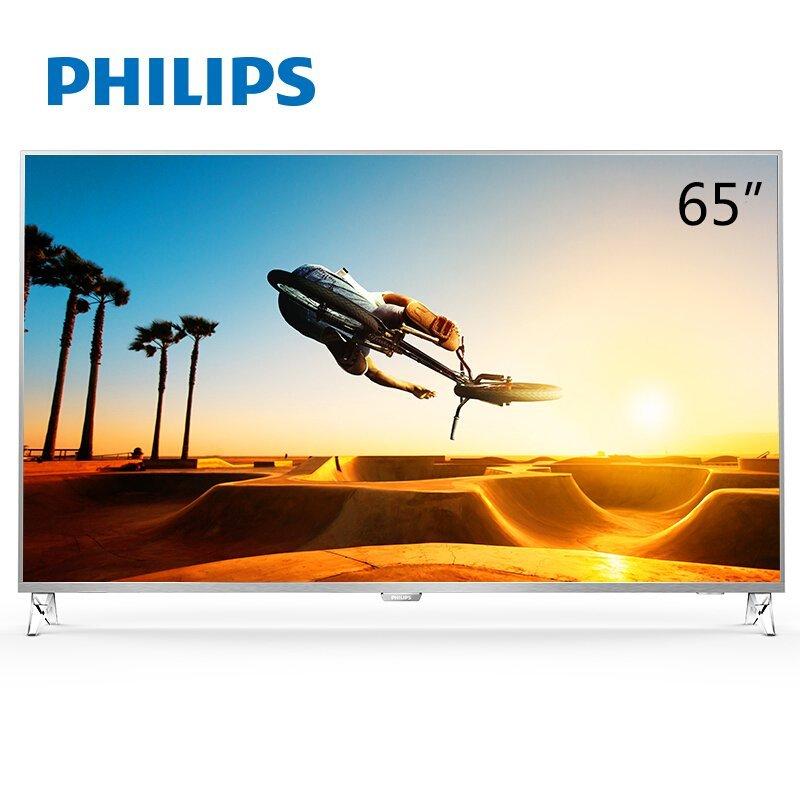 PHILIPS   Philips Philips 65puf7102 T3 / 65 cm 4K LED HDR TV thông minh máy bay HDR viền kim loại si