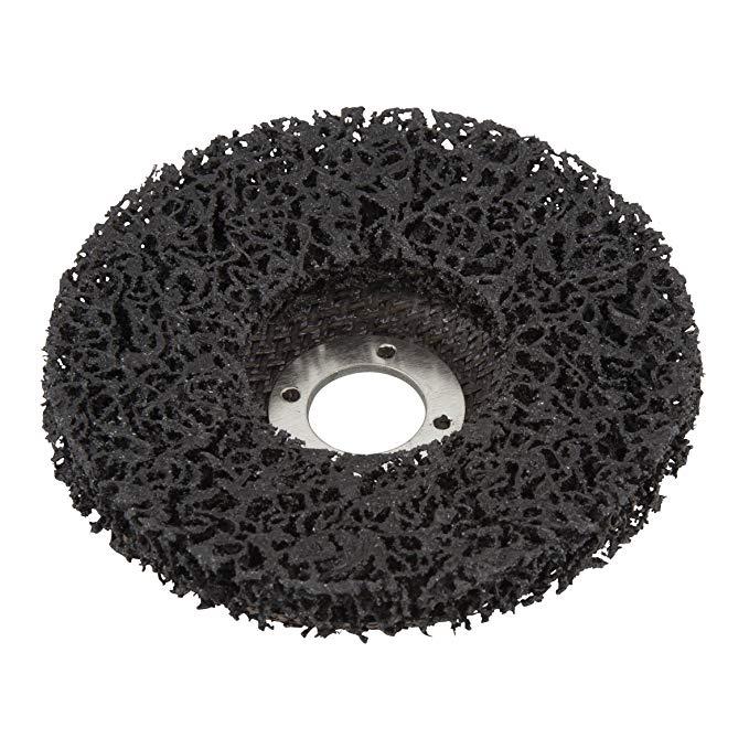 Wolfcraft 1672000 125 mm Đường kính Đĩa làm sạch phổ quát - Đen
