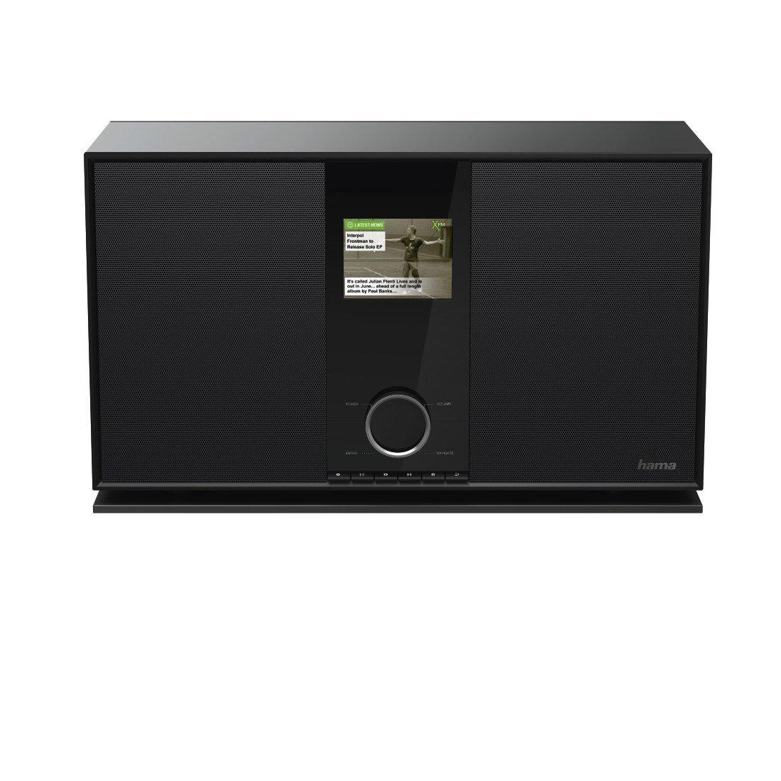Hama Hama dir3600mbt Internet - Radio, màu đen (3.5 mm, AAA, Internet, 300 – 18000 HZ, TFT, DAB, DAB