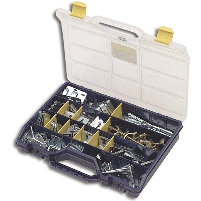 Solido loại bảo vệ tay áo phổ quát 26 miếng sortimo thích hợp cho phổ kim loại chân đế, kết nối clip