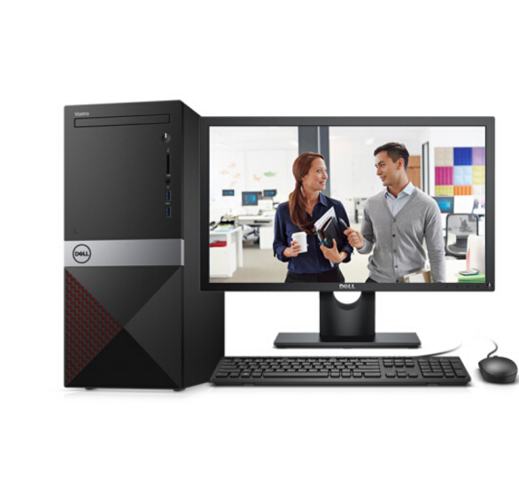 DELL Dell (DELL) đạt được hiệu suất cao 3470 (8 thế hệ máy tính thương mại i3-8100 8G 1T 4 năm cửa n