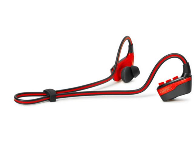 EDIFIER Xe thể thao thức không dây tai nghe bluetooth nghe lọt tai Đưa Mak con chíp W430BT màu đỏ.