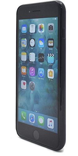 プ ラ đang Plata túi da vỏ điện thoại di động thiết kế áo nâu đậm iPhone7 Plus/iPhone8 Plus