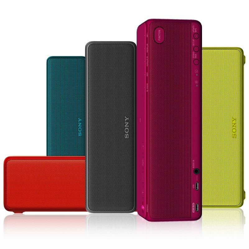 Sony Sony Sony H.ear Go SRS-HG2/BM nặng trầm Bluetooth không dây đen trình xách tay