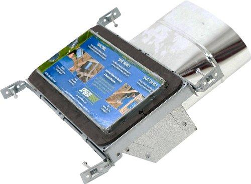 Speedi-Boot sbh-6126 WS rộng 30,48 cm, dài 101,60 cm đến 25,4 cm dia tường STACK oval REGISTER xả kh