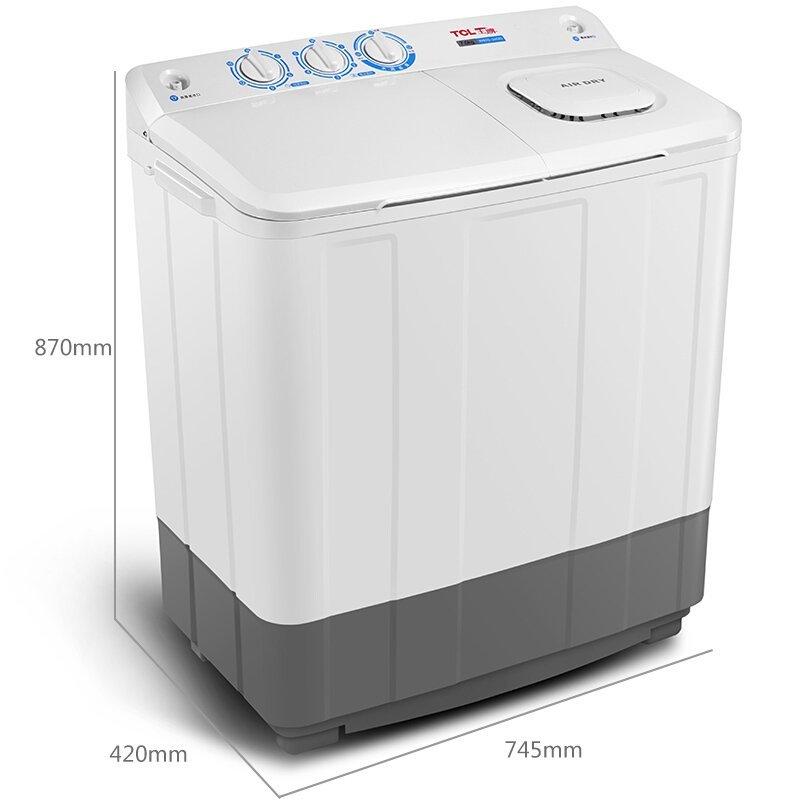 TCL TCL XPB70-2608S 7 kg khối lượng lớn bán tự động hai thùng máy giặt hai mini - xi lanh