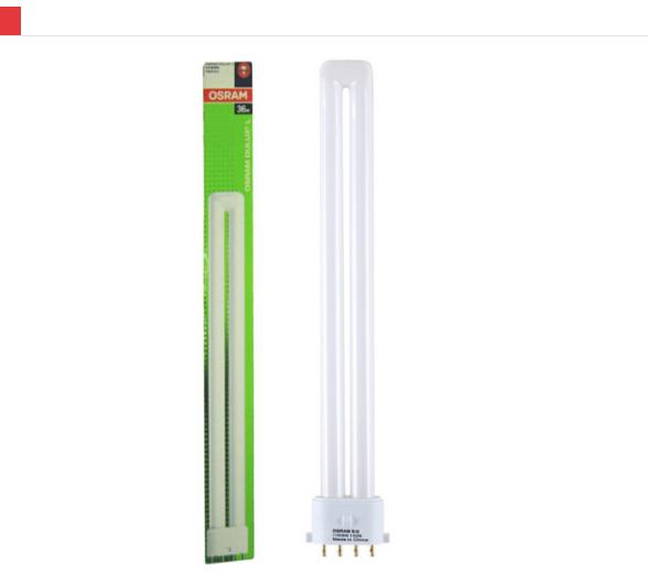 OSRAM (OSRAM) 4 ống kim 36W ba màu gọn H tiết kiệm năng lượng ánh sáng Mặt trời màu 6500K