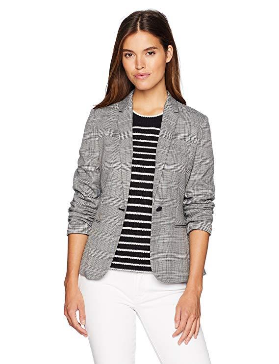 Áo khoác nút đơn nữ Calvin Klein