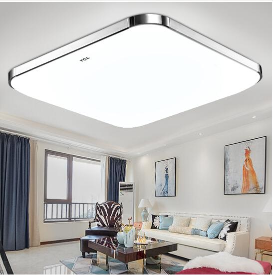 TCL LED đèn hướng dẫn hay gia - 30W ánh sáng trắng hút khách phòng ngủ phòng Omicron đèn hình vuông