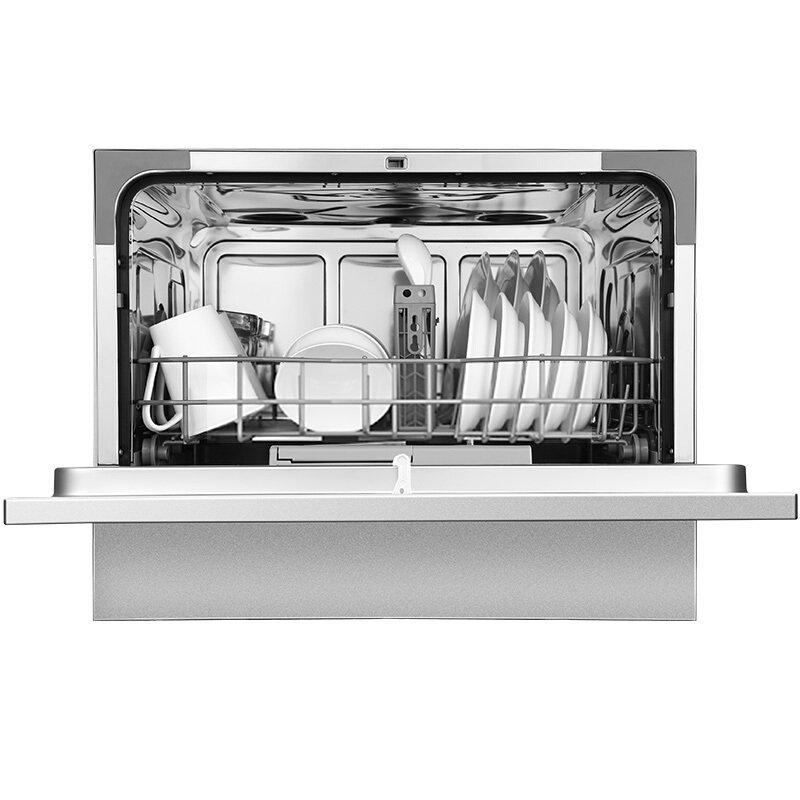 Midea  Mỹ (Midea) WQP6-3602A-CN 6 bộ đầy đủ thông minh khảm sấy khô máy rửa bát gia dụng kép