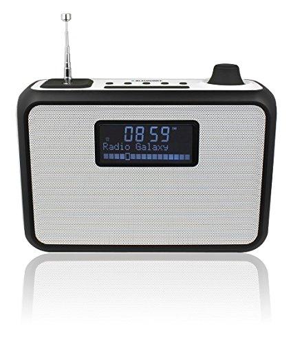 Blaupunkt Blaupunkt pp15dab Portable radio báo động DAB + đưa mp3 / WMA Player (USB / SD, LCD - màn