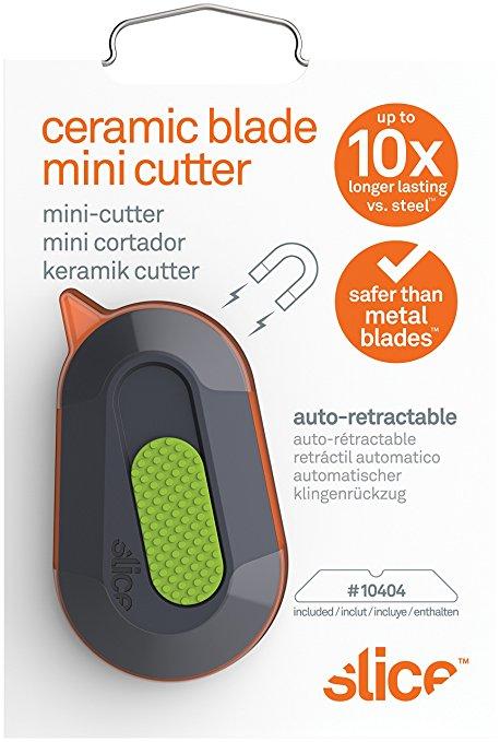 Slice Công cụ an toàn lát gốm của Mỹ - Dao cắt bỏ túi gốm sứ 10514